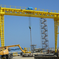 30t Precast Beam Precast Bridge Double Girder Gantry Crane